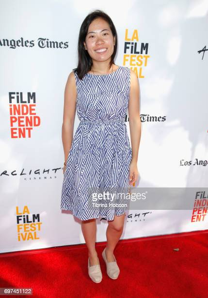 Yongle Wang attends Shorts Program 6 during 2017 Los Angeles Film Festival at Arclight Cinemas Culver City on June 18 2017 in Culver City California