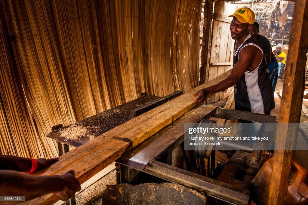 Yongoro, Sierra Leone, West Africa : Stock Photo