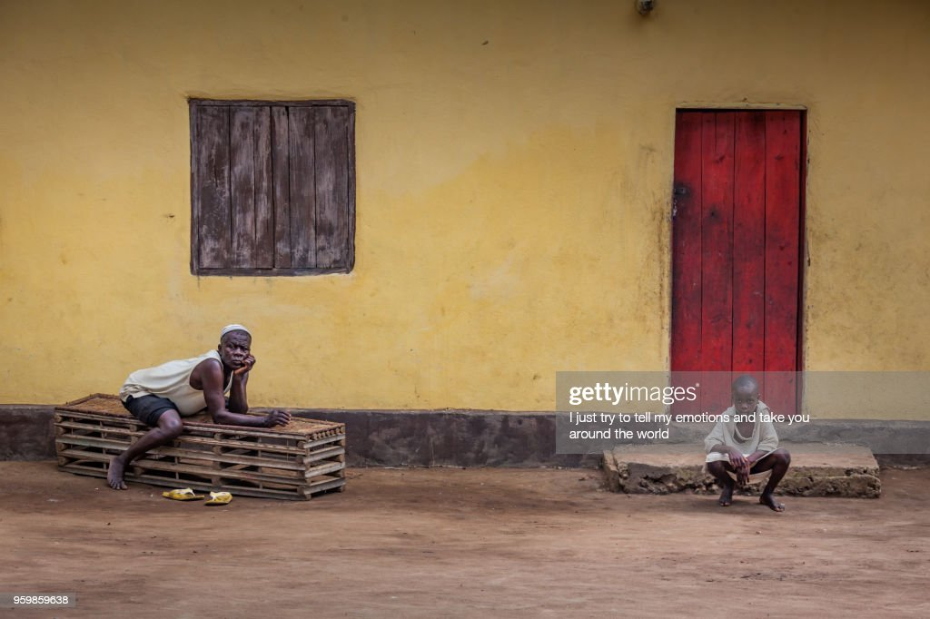 Yongoro, Sierra Leone, West Africa : Stock Photo