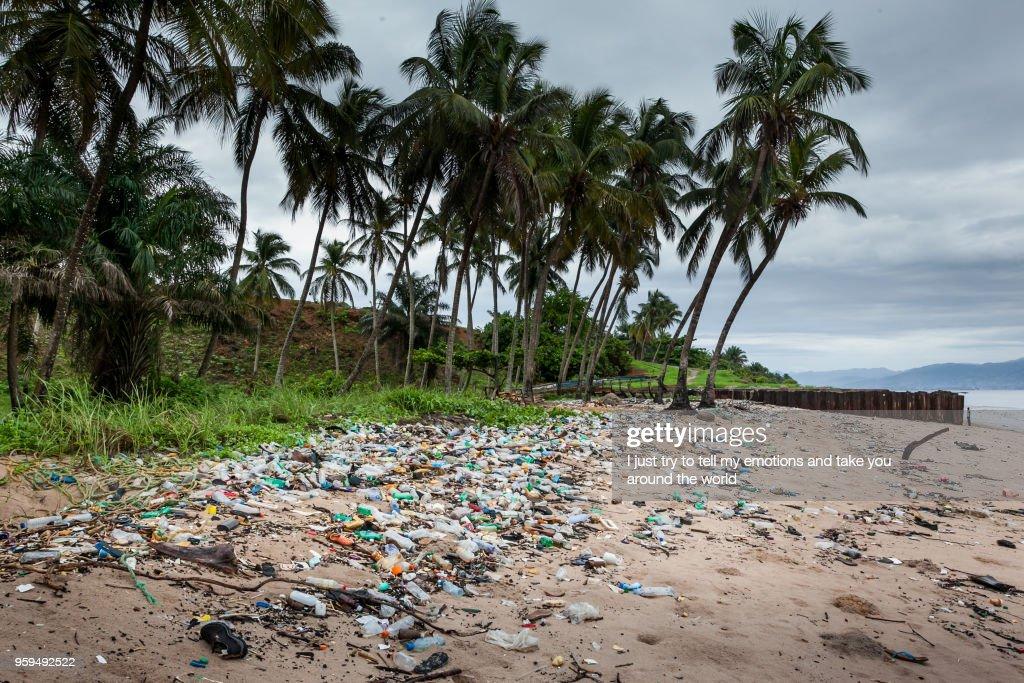 Yongoro, Sierra Leone, West Africa - the beaches of Yongoro : Stock-Foto