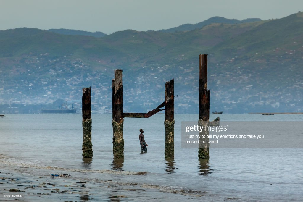 Yongoro, Sierra Leone, West Africa - the beaches of Yongoro : Stock-Foto
