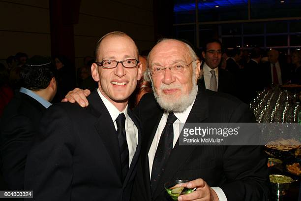 Yoni Leifer and Moishe Leifer attend American Friends of Shalva Annual Dinner at Pier 60 on March 5 2006 in New York City