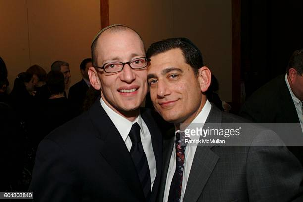Yoni Leifer and Morty Leifer attend American Friends of Shalva Annual Dinner at Pier 60 on March 5 2006 in New York City