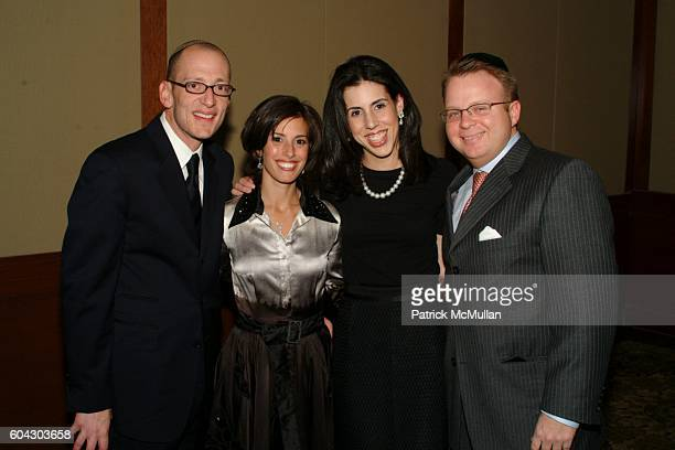 Yoni Leifer Jamie Leifer Rachel Lyons and David Lyons attend American Friends of Shalva Annual Dinner at Pier 60 on March 5 2006 in New York City