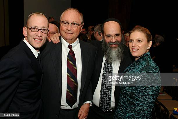 Yoni Leifer Kalman Samuels and Dawn Arnall attend American Friends of Shalva Annual Dinner at Pier 60 on March 5 2006 in New York City