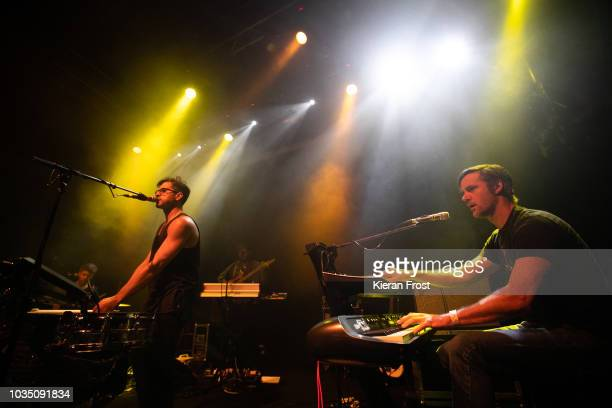 Yoni Wolf and Doug McDiarmid of Why performs at The Button Factory on September 17 2018 in Dublin Ireland
