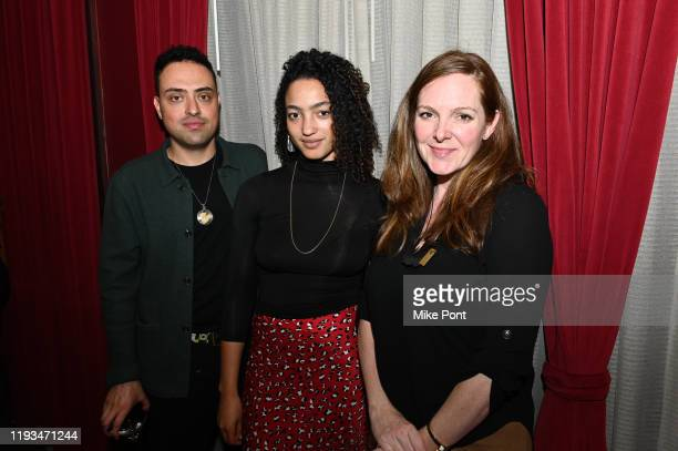 Yony Iyser Magaajyia Silberfeld and Elizabeth Bolognino attend an UNBLINDED Dinner Hosted By Jay Abraham Sean Callagy And Shannon O'Donnell on...