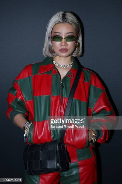 Yoon ambush attends the Dior Perfume Dinner, as part of Paris Fashion Week, at Caviar Kaspia on January 17, 2020 in Paris, France.