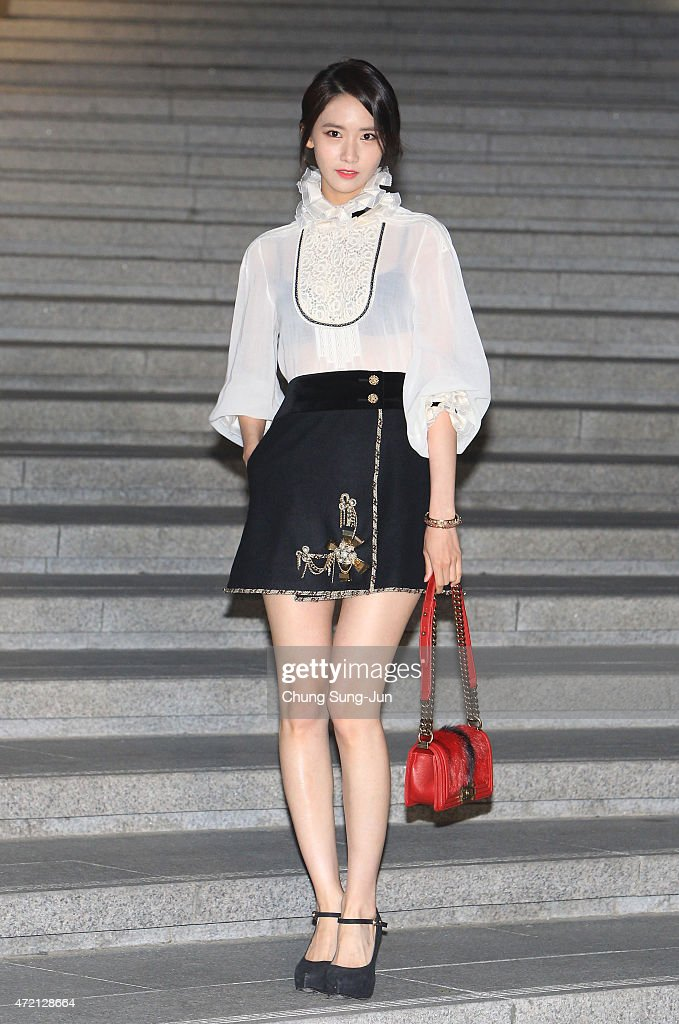 Yoona arrives the Chanel 2015/16 Cruise Collection show on May 4, 2015 in Seoul, South Korea.