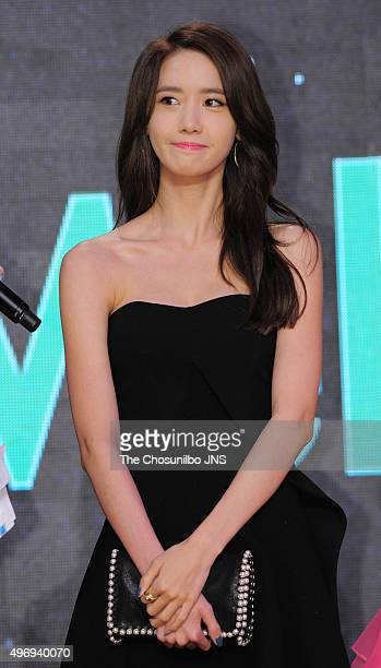 Yoona of Girls' Generation attends the 2015 Melon Music Awards at Olympic Park on November 7 2015 in Seoul South Korea