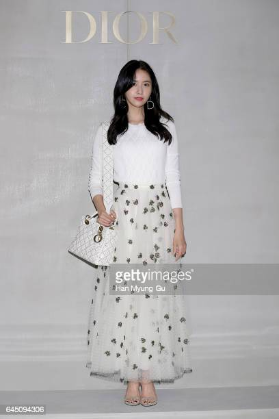 Yoona of South Korean girl group Girls' Generation attends the photocall for Dior 2017 S/S Collection at Shinsegae Department Store on February 24,...