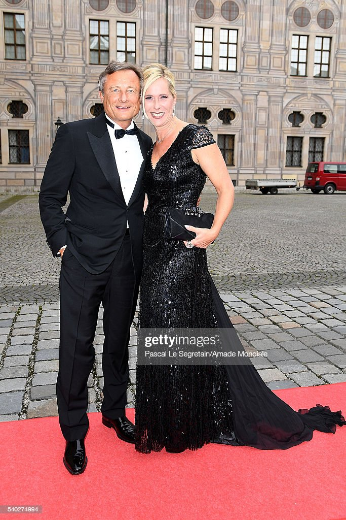 Yorck Otto and Alexandra Albrecht attend the AMADE Deutschland Charity dinner on June 14, 2016 in Munich, Germany.