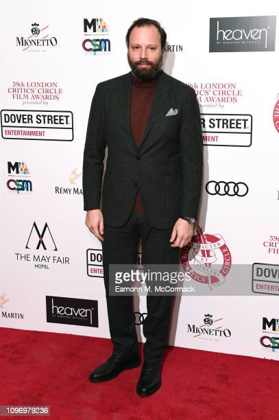 Yorgos Lanthimos attends the 39th London Critics' Circle Choice Awards at The May Fair Hotel on January 20 2019 in London England