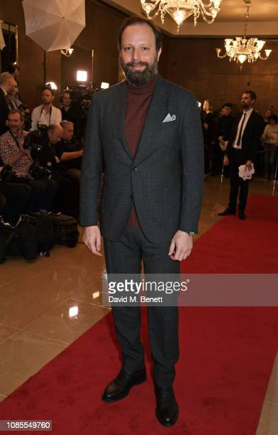 Yorgos Lanthimos attends The 39th London Film Critics' Circle Awards at The May Fair Hotel on January 20, 2019 in London, England.