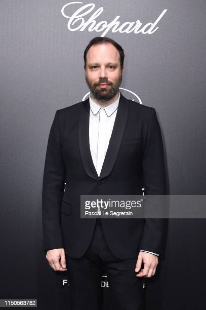 Yorgos Lanthimos attends the Official Trophee Chopard Dinner Photocall as part of the 72nd Cannes International Film Festival on May 20 2019 in...