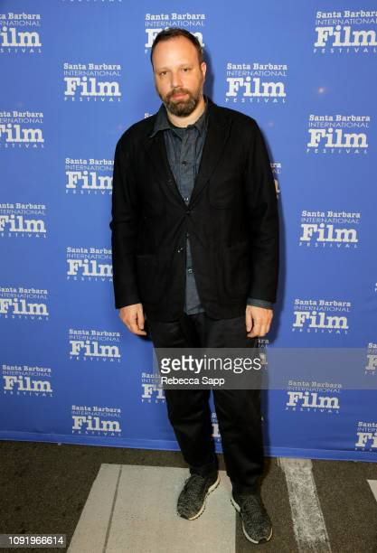 Yorgos Lanthimos attends the Outstanding Directors Award during the 34th Santa Barbara International Film Festival at Arlington Theatre on January 31...