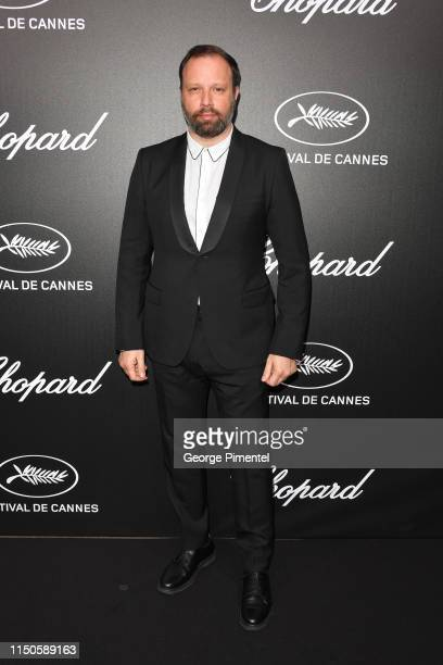 Yorgos Lanthimos attends the The Chopard Trophy event during the 72nd annual Cannes Film Festival on May 20 2019 in Cannes France