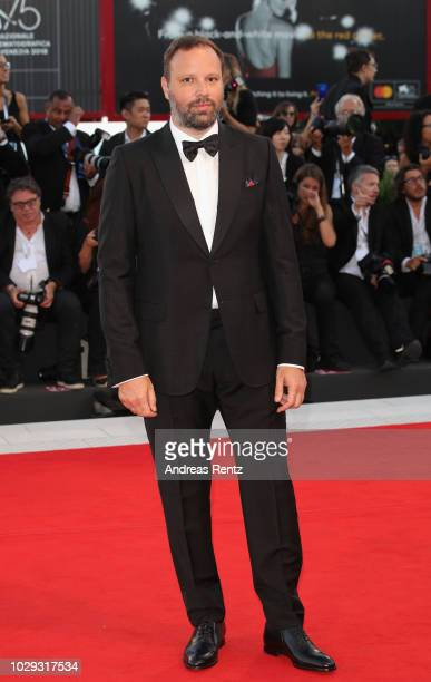 Yorgos Lanthimos walks the red carpet ahead of the Award Ceremony during the 75th Venice Film Festival at Sala Grande on September 8 2018 in Venice...