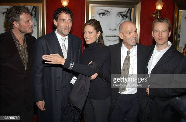 Yorick Van Wageningen Clive Owen Angelina Jolie director Martin Campbell and Linus Roache