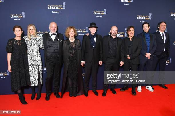 Yorina Bosco Dan Levy Hakim Faris and guests arrives at the Cesar Film Awards 2020 Ceremony At Salle Pleyel In Paris on February 28 2020 in Paris...