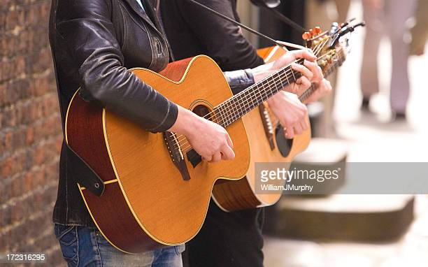 york buskers (guitar) - busker stock pictures, royalty-free photos & images