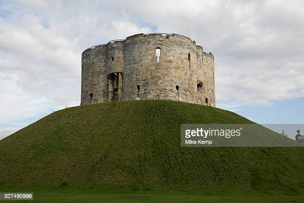 York Castle in the city of York England is a fortified complex comprising over the last nine centuries The nowruinous keep of the medieval Norman...