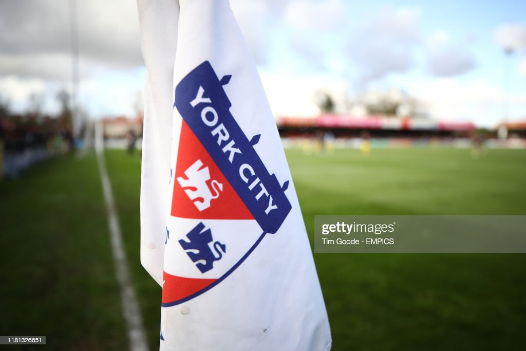 York City v Altrincham - FA Cup - First Round - Bootham Crescent : News Photo