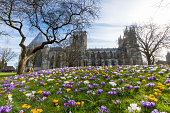 York city Minster architecture in United Kingdom