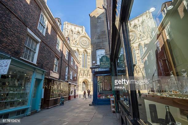 York city street scene in United Kingdom