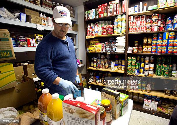 York County Food Rescue a nonprofit that provided for food pantries in York County abruptly closed Volunteer Kurt Fortman sorts food for a visitor at...