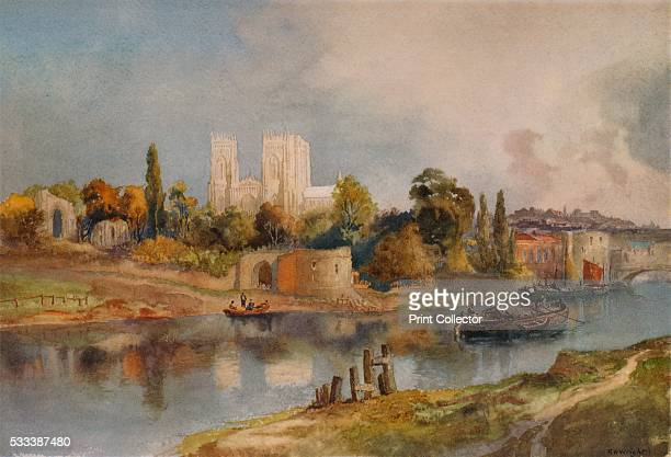 'York' from 'A Catalogue of the Pictures and Drawings in the collection of Frederick John Nettleford Volume IV' by C Reginald Grundy and F Gordon Roe...