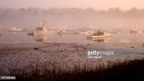 york, maine-6 - lobster fishing stock photos and pictures