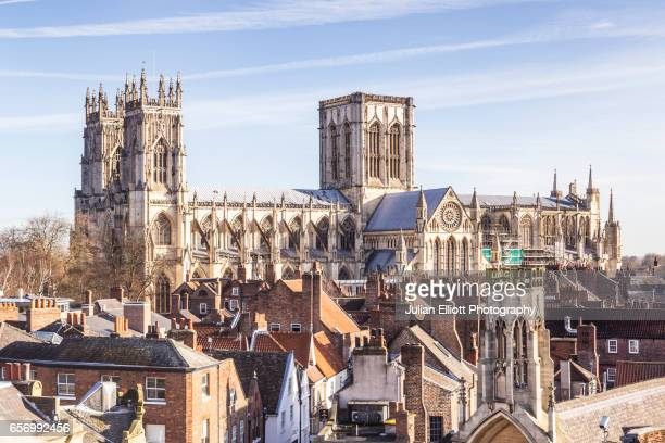 york minster in the city of york, uk. - york minster stock pictures, royalty-free photos & images