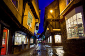 York North Yorkshire England UK Old Town Shambles Street