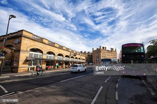 york railway station, york, united kingdom - ouse river stock photos and pictures