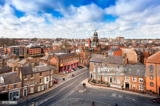 york skyline england - york yorkshire stock pictures, royalty-free photos & images