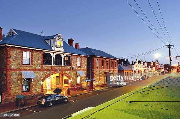 York Town and City Street, Western Australia