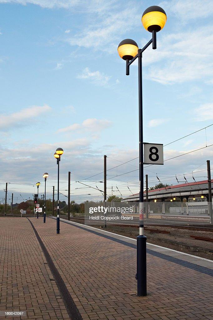 York train station : Stock Photo