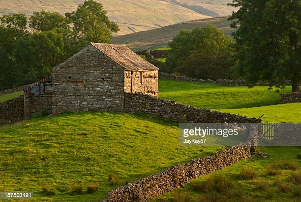 yorkshire barn - english culture stock pictures, royalty-free photos & images