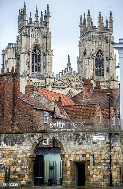 yorkshire buildings - york minster stock pictures, royalty-free photos & images