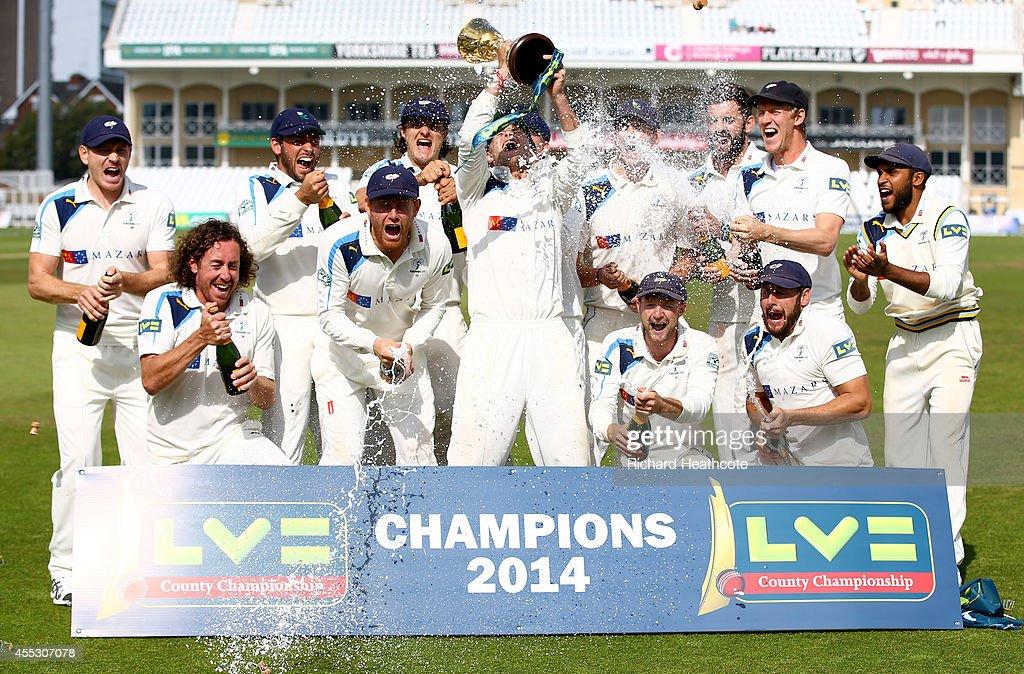 Nottinghamshire v Yorkshire - LV County Championship : News Photo