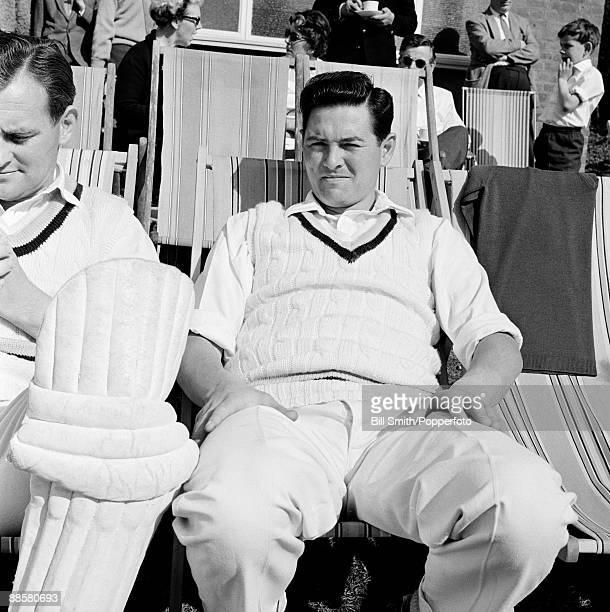 Yorkshire cricketer Jimmy Binks circa 1964