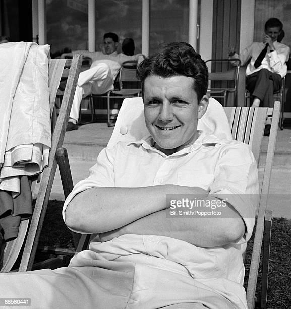 Yorkshire cricketer Phil Sharpe circa 1964