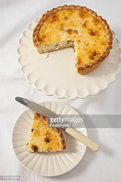 Curd tarta de Yorkshire