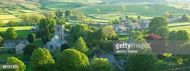 yorkshire dales - idyllic stock pictures, royalty-free photos & images
