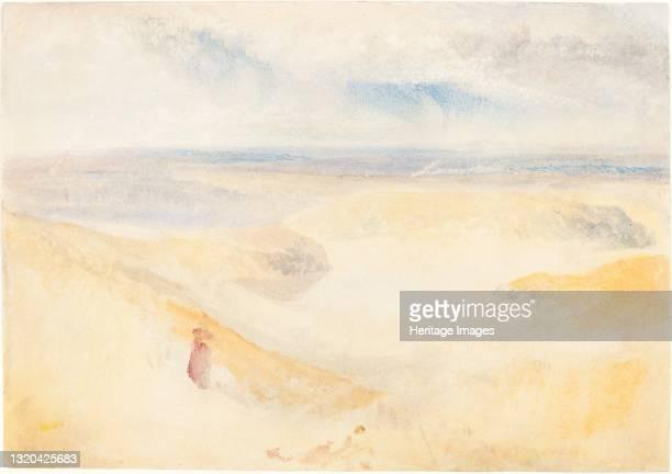 Yorkshire River, circa 1827. Artist JMW Turner.
