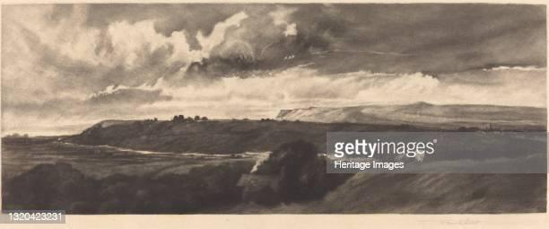 Yorkshire Road, 1898. Artist Frank Short.
