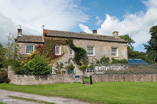 Yorkshire Stone Farmhouse in England.