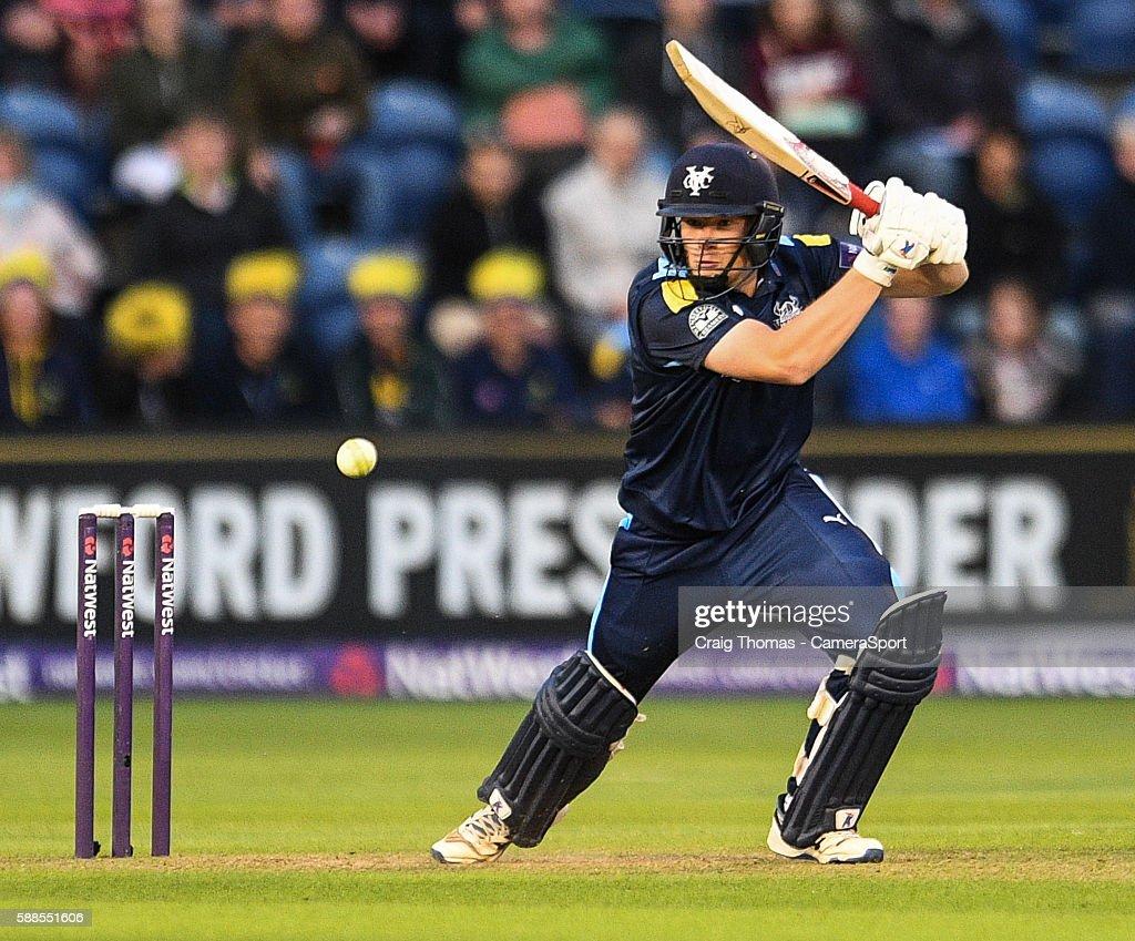Glamorgan v Yorkshire - NatWest T20 Quarterfinal : News Photo