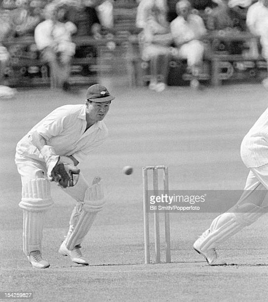 Yorkshire wicketkeeper Jimmy Binks, circa May 1966.